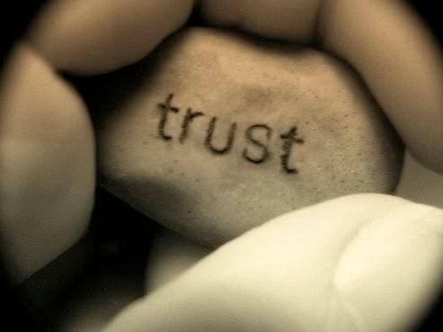 Trust exists!